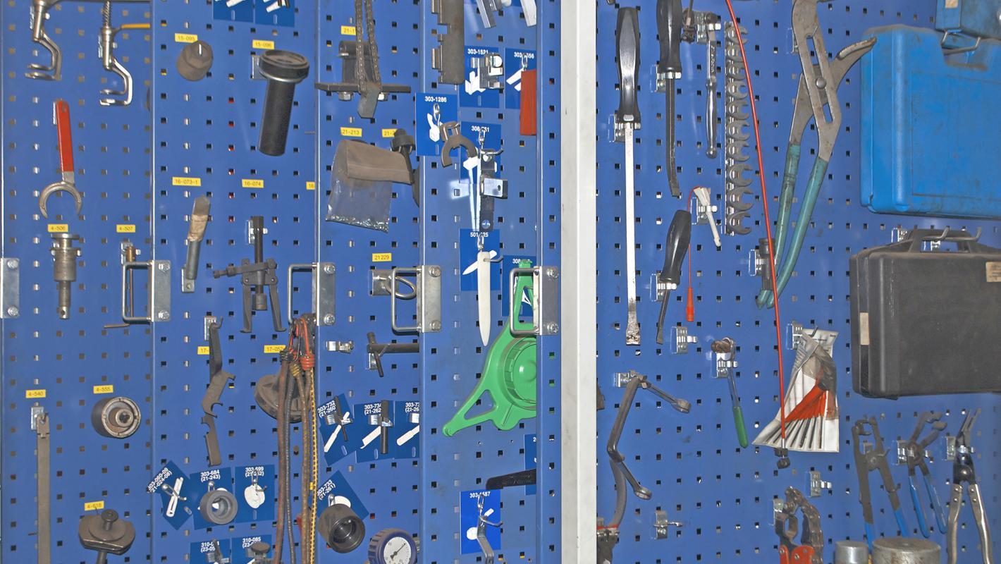 Spezialwerkzeuge in der Autowerkstatt